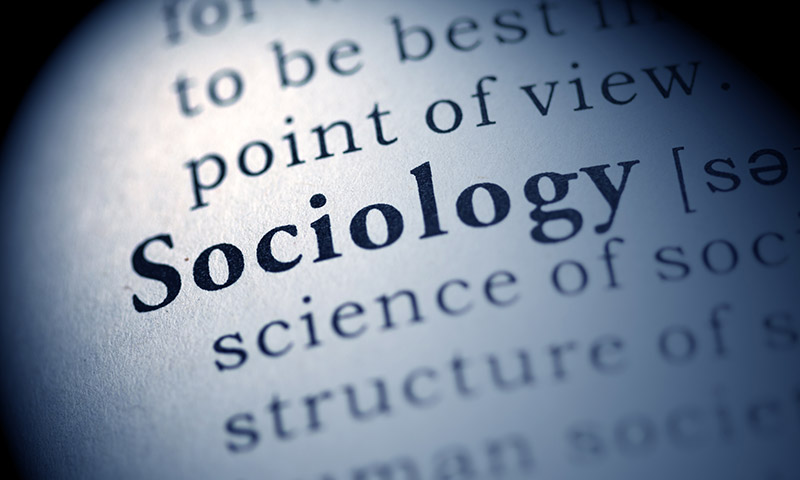 "Picture of the word ""Sociology"" in a dictionary"