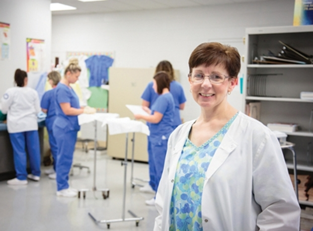 Karmon Kingsley has served as the Director of CSCC's Medical Assisting Program since 2005. Because of the success of the CSCC Medical Assisting program, the college will be adding an additional full-time faculty member for the fall of 2017 in an effort to double the enrollment to 40 students.