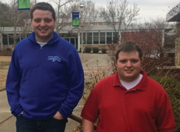Matt and Clay Pankey are enrolled in CSCC's Honors program and were recently named to the CSCC President's List.